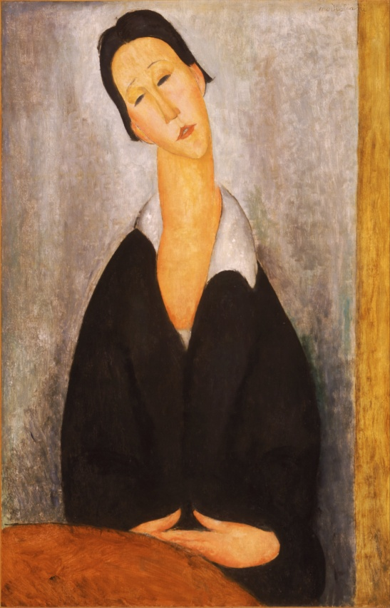 Amedeo Modigliani - Portrait of a Polish Woman