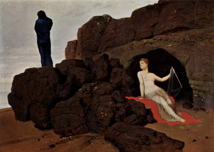 arnold bocklin - odysseus