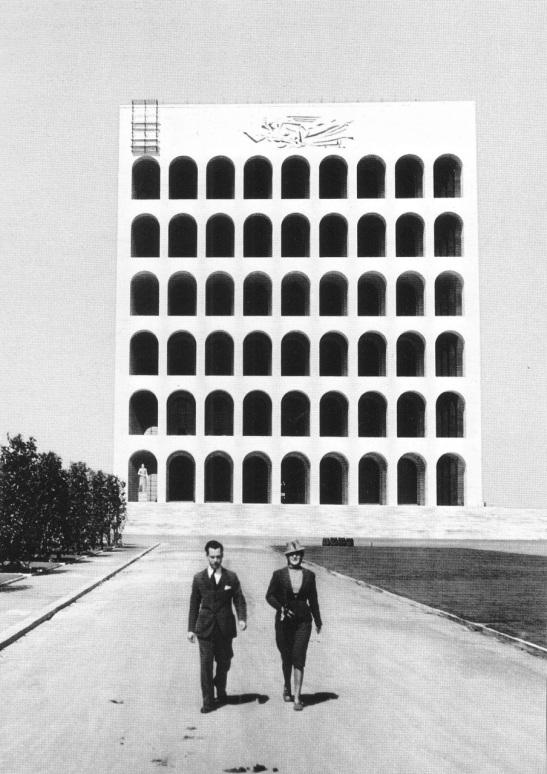 Giovanni Guerrini, Ernesto Bruno La Padula, Mario Romano, Palazzo della Civiltà Italiana, (1943) 3