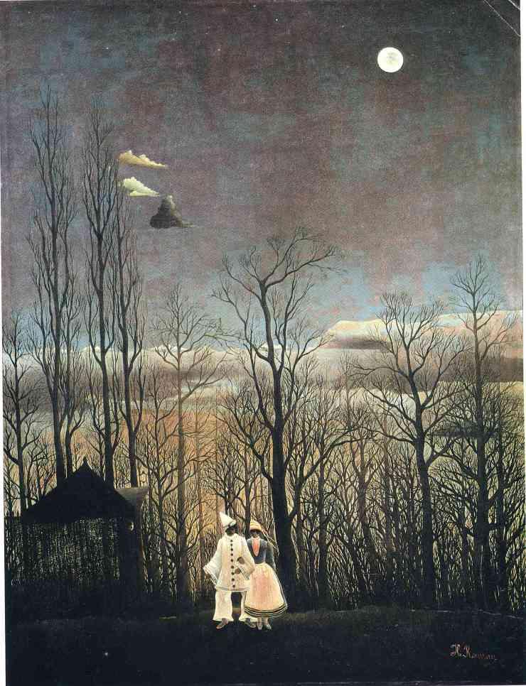 Henri Dounaier Rousseau - Carnival Evening.1886