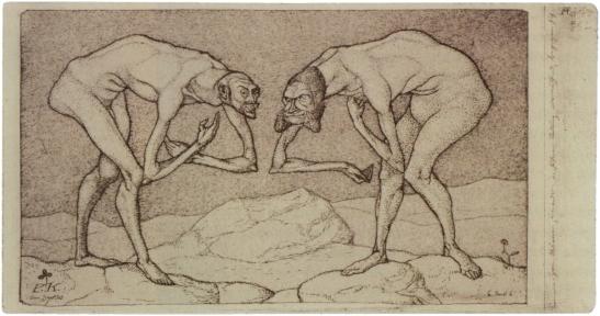 Paul Klee - Begruessung