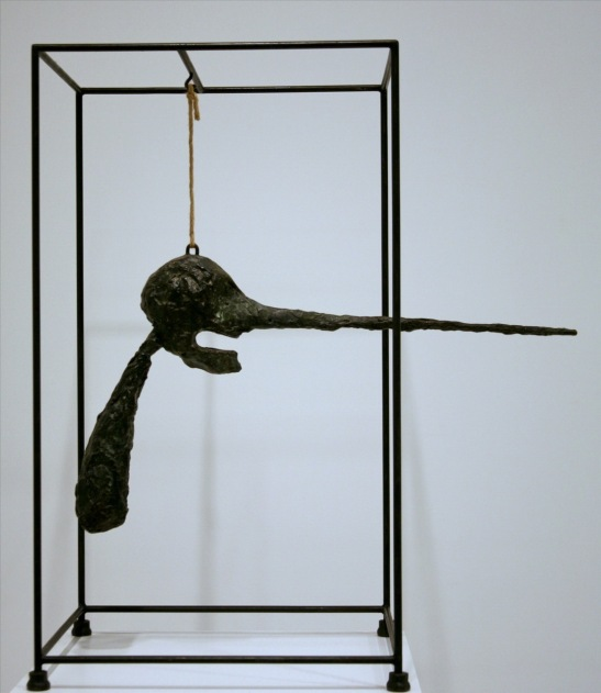 Giacometti - the nose