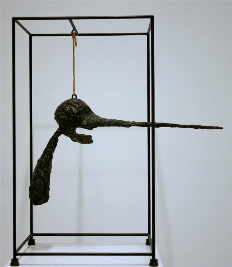 Giacometti - the nose