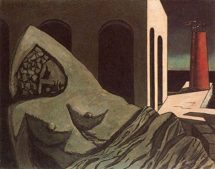 Giorgio de Chirico - The SIlent Statue