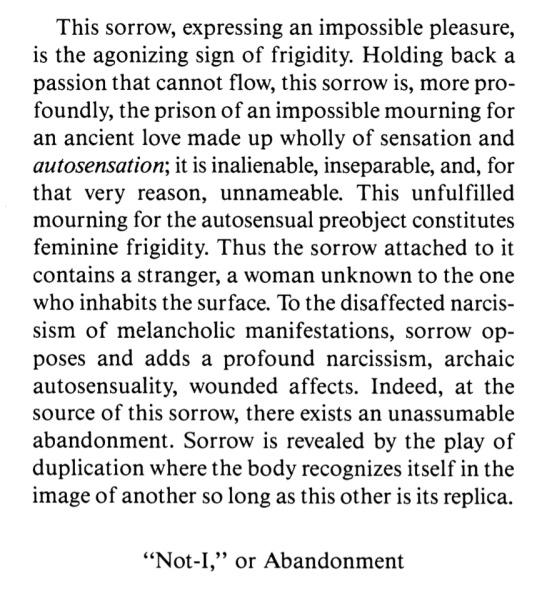 Julia Kristeva - The pain of Sorrow in the Modern World - The Works of Marguerite Duras